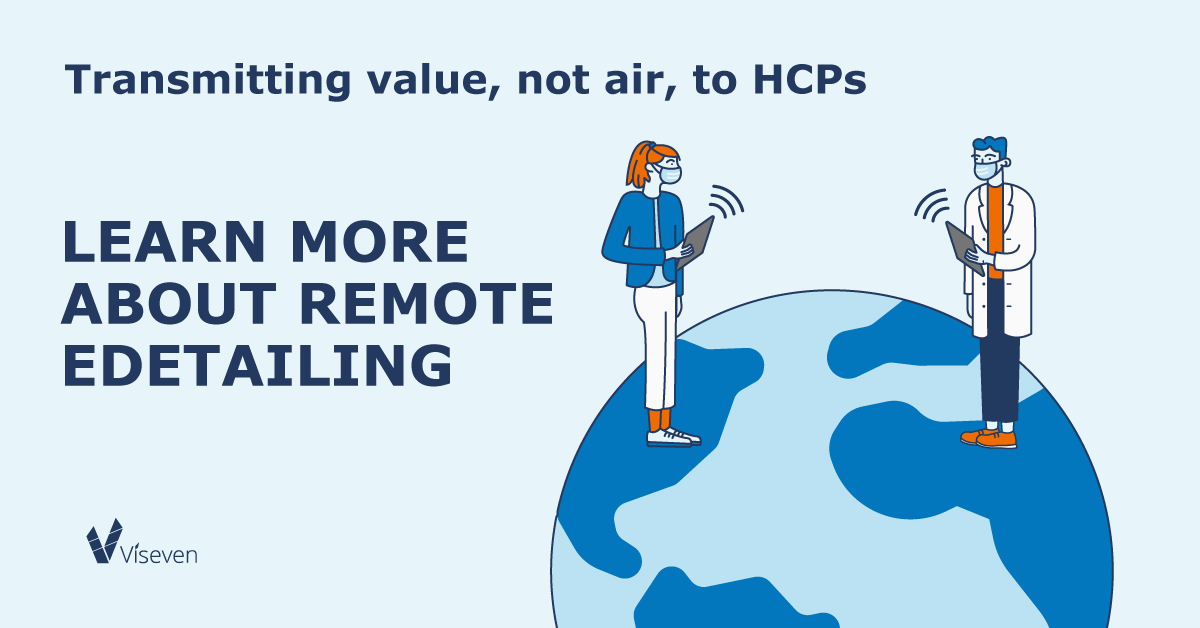 remote visits: how to stay tuned with HCPs