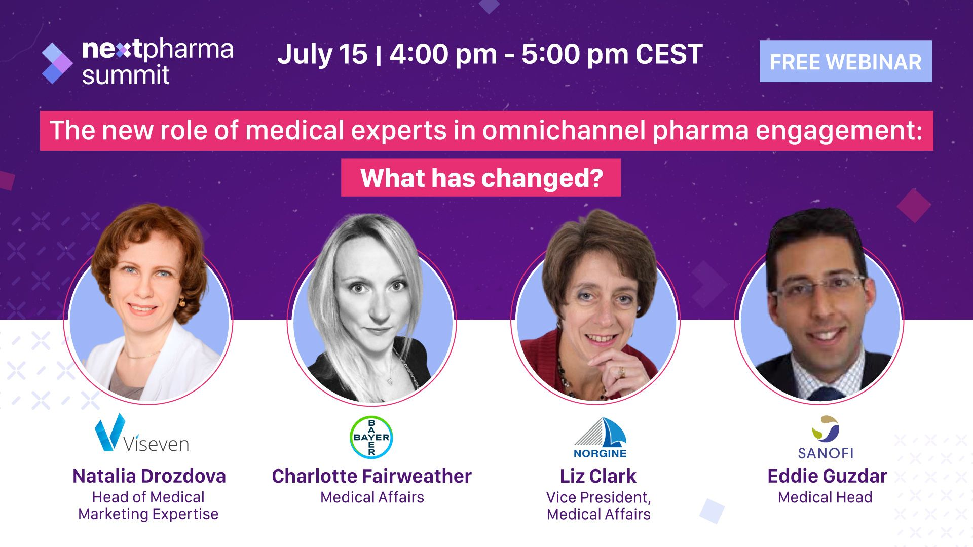 """Viseven at Next Webinar: """"The new role of medical experts in Omnichannel pharma engagement: what has changed?"""""""